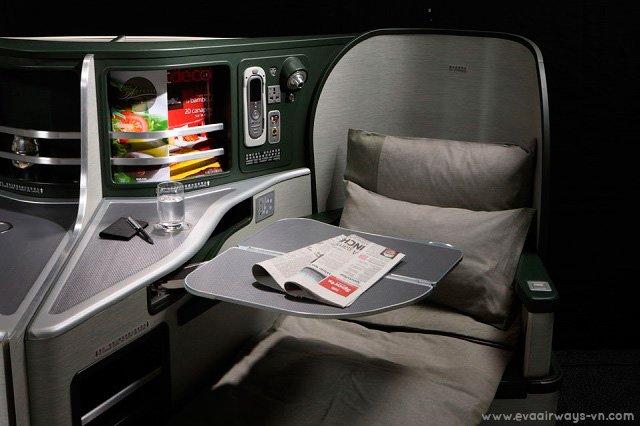 Tận hưởng các dịch cụ tuyệt vời trong chuyến bay cùng EVA Air