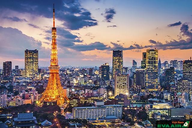 Tokyo không chỉ là thành phố du lịch mà còn là thành phố hiện đại nhất thế giới