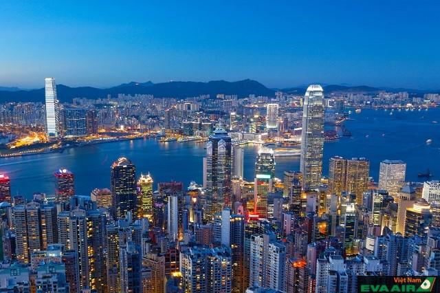 Những tòa nhà cao tầng – hình ảnh phố biến ở Hồng Kông