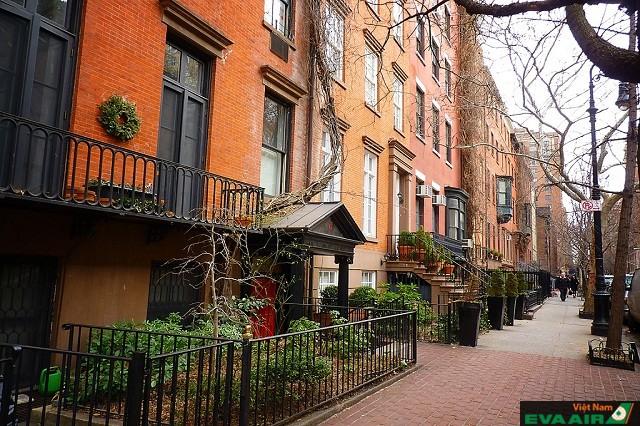 West Village  nơi để bạn thư giãn tuyệt vời không gian yên bình