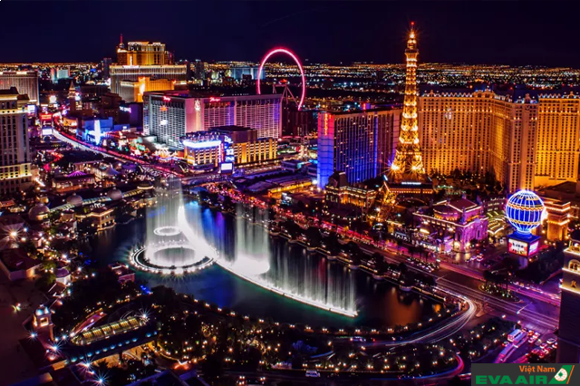 Las Vegas - Thiên đường giải trí bậc nhất của nước Mỹ