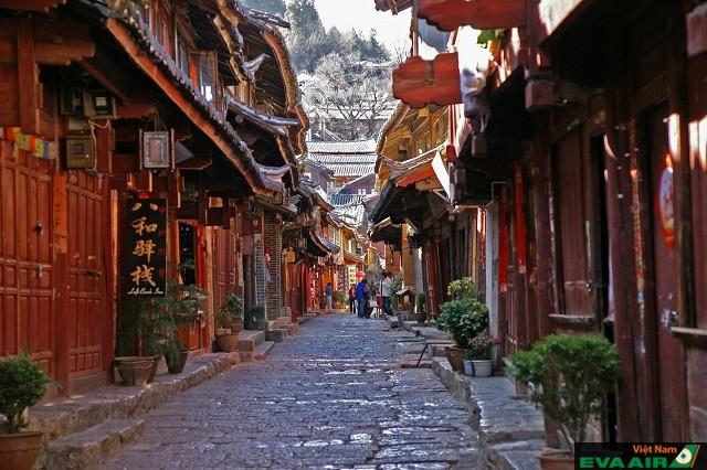 Phố cổ Lệ Giang – là một trong 4 thị trấn cổ được bảo vệ tốt nhất ở Trung Quốc