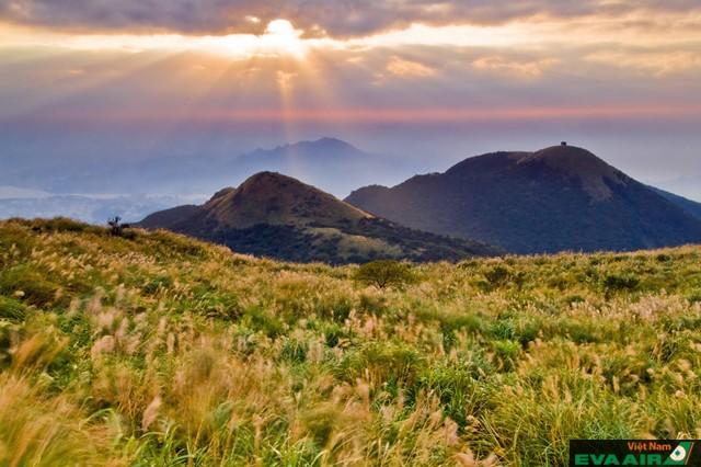 Cảnh sắc thiên nhiên xinh đẹp ở núi Dương Minh