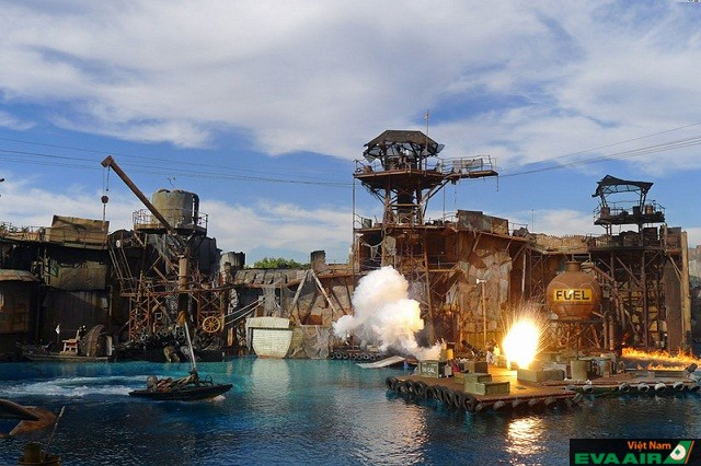 Phim trường Universal Hollywood nơi sản xuất những bộ phim nổi tiếng khắp thế giới