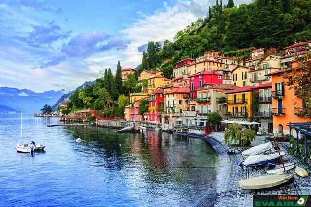Với vẻ đẹp tuyệt vời hồ Como là điểm đến lý tưởng đi du lịch cũng như nghỉ dưỡng