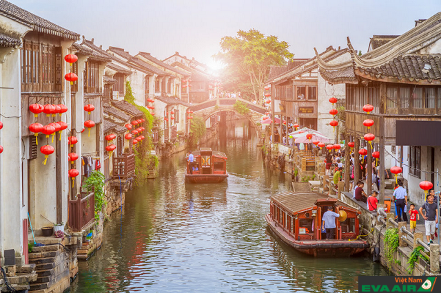 Các con phố ở Tô Châu khiến du khách liên tưởng đến những bộ phim kiếm hiệp