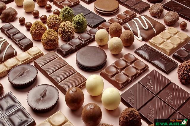Chocolate là món quà ý nghĩa dành tặng những người bạn yêu thương