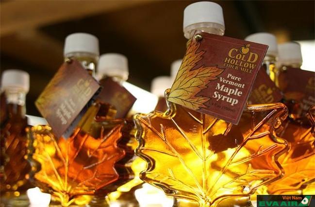Siro cây lá phong, loại siro đặc biệt nổi tiếng của Canada