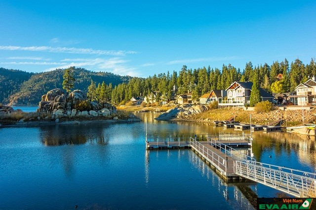 Big Bear có khung cảnh thiên nhiên tuyệt đẹp thích hợp để bạn thư giãn