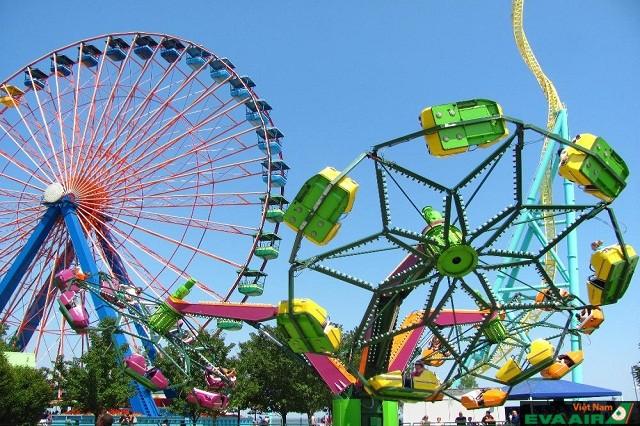Cedar Point hội tụ nhiều chiếc tàu lượn siêu tốc đẳng cấp của thế giới