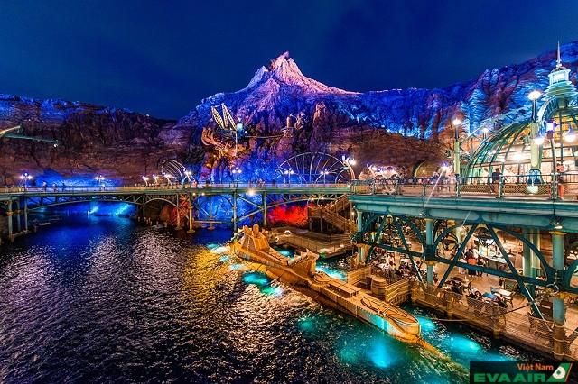 Tokyo Disney Sea điểm vui chơi giải trí hàng đầu Tokyo