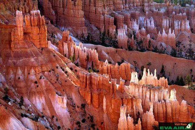 Vườn quốc gia Bryce Canyon có khung cảnh thiên nhiên ngoạn mục và kỳ vỹ