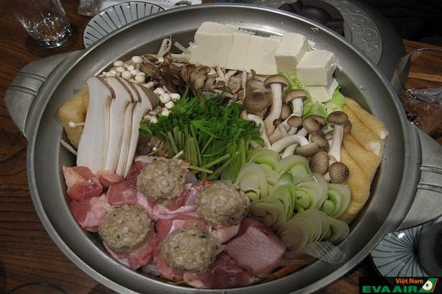 Lẩu Chankonabe là món ăn dành cho các võ sĩ Sumo ngon bổ dưỡng