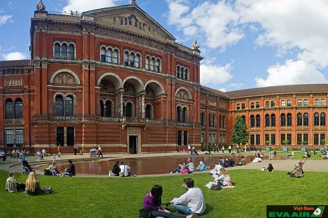Bảo tàng Victoria và Albert nơi khám phá nghệ thuật lý tưởng ở thủ đô London
