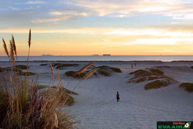 Bãi biển Coronado luôn nằm trong top là bãi biển thơ mộng và lãng mạn nhất ở San Diego