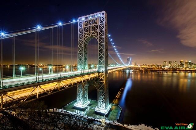George Washington là một trong những cây cầu nhộn nhịp nhất thế giới