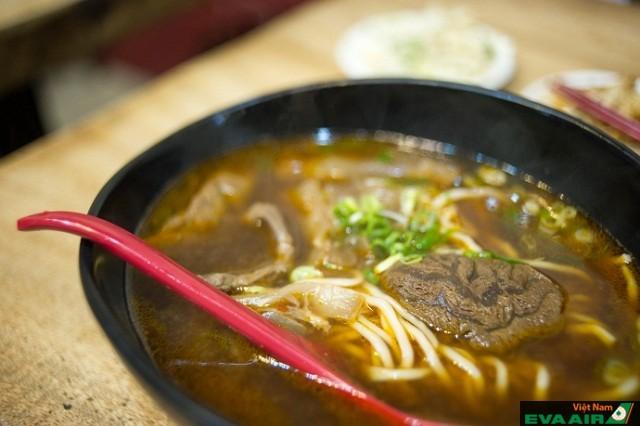 Món mì bò Mien Mien Chu Tao mang vị cay đặc trưng Mien Mien Chu Tao
