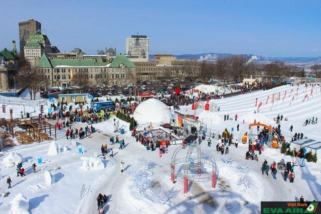 Lễ hội mùa đông Quebec, một trong những lễ hội ấn tượng nhất trong tháng 2