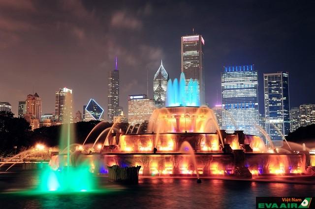 Chicago điểm du lịch có cuộc sống về đêm sôi động đúng nghĩa trên đất Mỹ