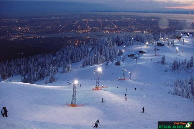 Núi Grouse là địa điểm trượt tuyết tuyệt vời nhất ở Vancouver