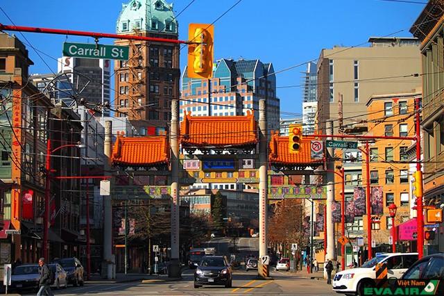 Khu phố China Town nổi bật giữa lòng thành phố