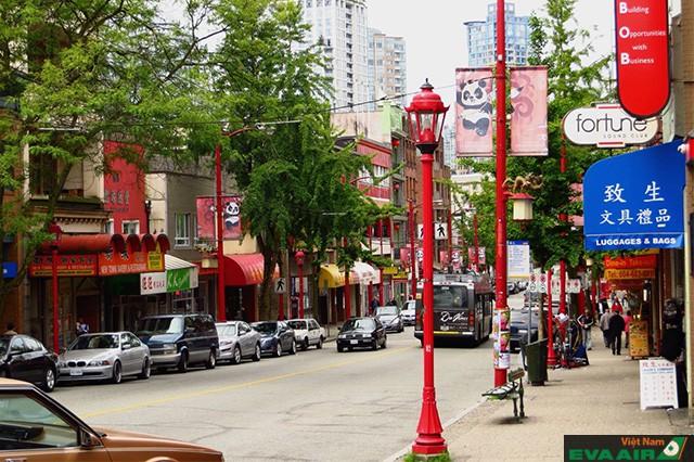 China Town sạch sẽ và văn minh